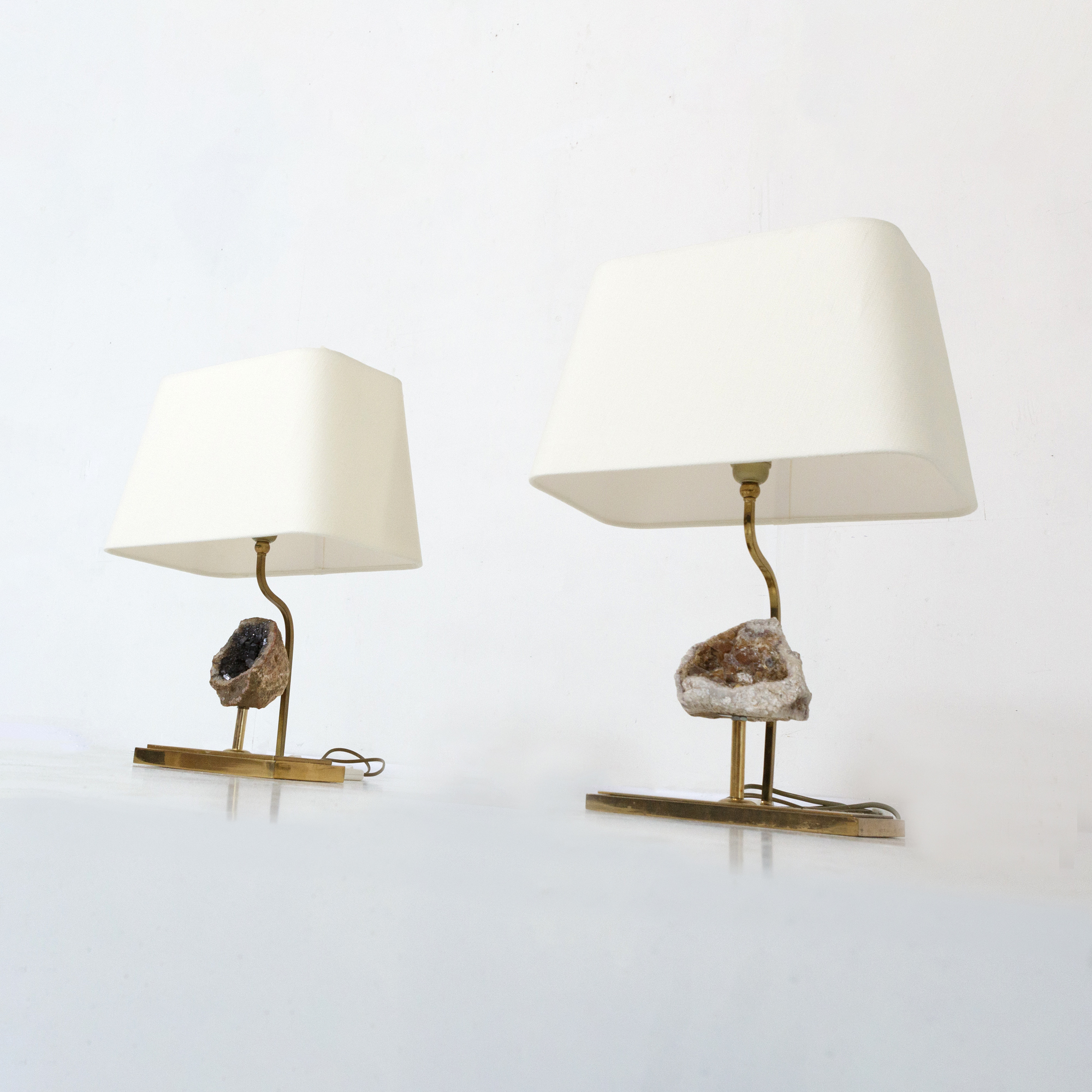 Mounted Stone Table Lamps